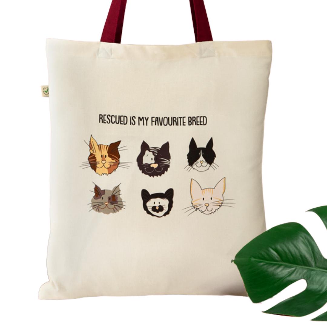 Rescue Cats Tote Bag