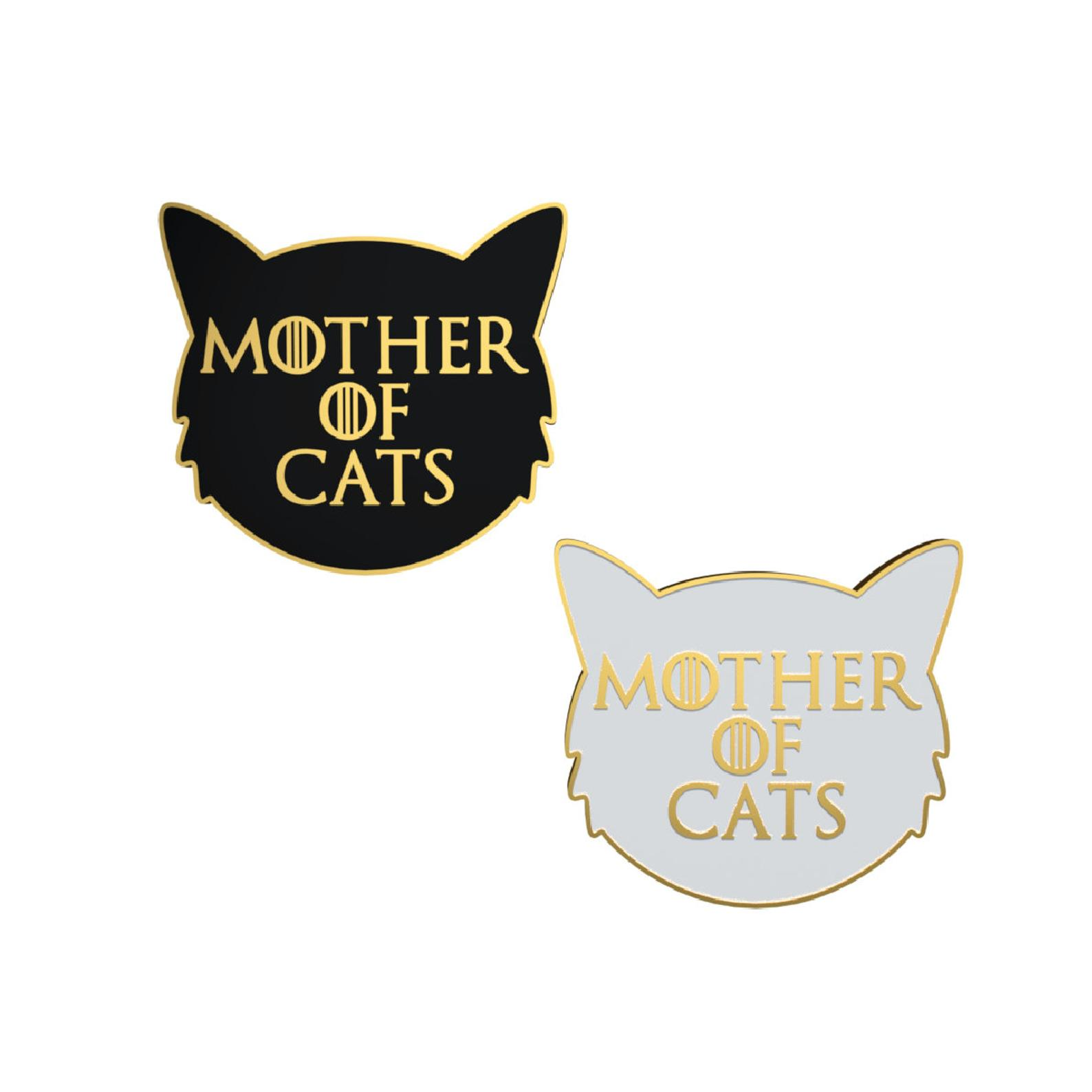 Mother of Cats - Enamel Pin