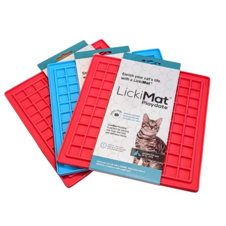 LickiMat® Playdate™ Lick Mats for Cats